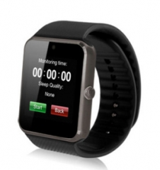 Intelligent Watch Bluetooth Call Mobile Phone Wear Can Be card Movement Step Wristband black one size