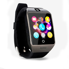 Intelligent Bluetooth Watch High-definition Screen Step Heart Rate  NFC Remote Camera Wristband black one size