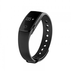 Bluetooth Intelligent Wristband Movement Touch Screen Sleep Monitor Waterproof Watch black one size