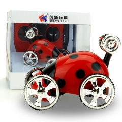 Innovation toy Mini Small insect remote control Dump truck child Magical prestige toy red 7.5*6*6