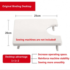 HN-1 piece/Set New Mini Handheld Sewing Machines Desktop Extensions Multifunction Electric Automatic White Desktop extensions