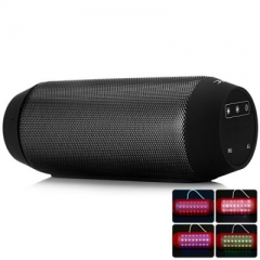 AEC BQ-615 Multi-function Wireless Bluetooth Sound Speaker Built-in FM Radio Support TF Card Input Black One Size