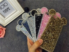 Fashionable  TechJumbo Extremely Sparkly bling iphone case for iphone6, 6S,6/6S plus, 7, 7 plus pink 7+