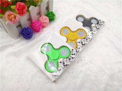 Fidget Hand Spinner LED Light Up Switch Control Ultra High Speed green normal