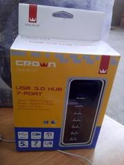 CROWN USB3.0 HUB 7 Ports (CMU3-07)