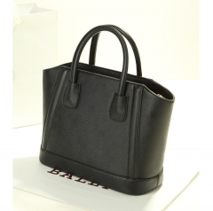 Toofn Handbag Fashion Big Handbag Shoulder Bag Three color Black F