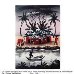 Giriama Art Wall Painting