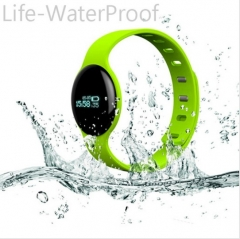 H18 Bluetooth Smart Band Heart Rate Sport Fitness Tracker WristBand with Sleep Monitor Pedometer Light Green .