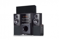 Sayona Subwoofer 3.1 Channel Speakers 15000W PMPO  Black & Grey