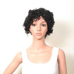 #1b,dl-106,Hot selling 100% huamn hair wig,Machine Made