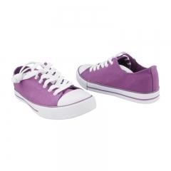 Unisex  Bata Canvas Rubber Shoes (5899078) - Purple 4