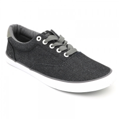 BATA CLASSIC MEN CANVAS CASUAL SHOE black 8896042 9