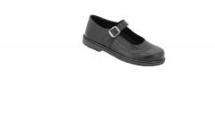 Bata Toughees Stylish Girls' Velcro School Shoes black 11