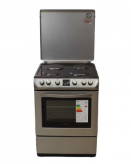 ARMCO GC-F6604SL - 4 Solid Electric Plates - Oven + Grill