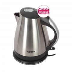 ARMCO AKT-1821LED(SS) Cordless Electric Kettle - 1.8L - - LED - 1800W silver and black