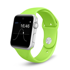Fashion Blutooth Smart Watch DM09 2.5D ARC Full HD Touch Screen For Android Phones Support SIM Card black one size