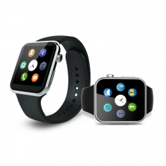 A9 Bluetooth Smart Watch A9 support Apple iPhone ios Android Phone with Heart Rate monitor black one size