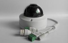 Hikvision Original English IP Camera dome poe cameras audio white one size