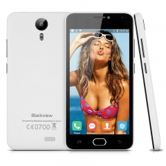 Blackview BV2000 5.0'' Android 5.1 MT6735P Quad Cores 1.0GHz RAM 1GB + 8GB ROM SmartPhone white
