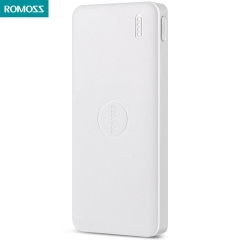 ROMOSS Polymos10 Air 10000mAh Power Bank for Mobile Phone Pad White 10000mAh