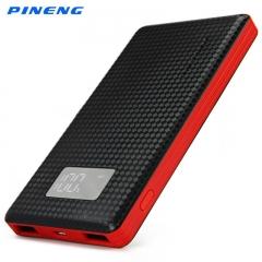 Original PINENG PNW - 960 6000mAh Dual USB 2.1A 1.0A External Mobile Battery Charger Pack Power Bank Black 6000mAh