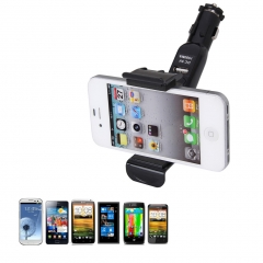 Universal Car USB Charger Mount Holder for Cubot/ Infinix/ Samsung​​ Smartphone black