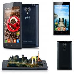 THL T6C 5.0'' Android 5.1 MT6580 Quad Cores 1.3GHz RAM 1GB + 8GB ROM 3G Smartphone Black