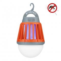 Enkeeo Camping Lantern with Mosquito Killer Orange one size