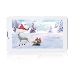 "Excelvan 7"" Phablet HD Dual SIM Android 4.4 Dual Core 8GB 3G Bluetooth GPS WIFI Tablet PC"