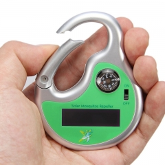 Outdoor Hook Type Solar Powerd Sonic Mosquito Insect Repeller with Compass