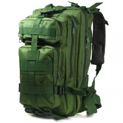 3P Military Tactical Backpack Oxford Outdoor Sport Bag for Camping Traveling Hiking Trekking Army Green 30L