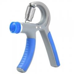 10 - 40Kg Adjustable TPR / PP Hand Grip Wrist Forearm Strength Training Heavy Grips Blue+Grey