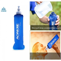 AONIJIE Portable Water Kettle Bottle for Outdoor Travel Cross-Country Running Sports Camping Hiking Blue 250ML