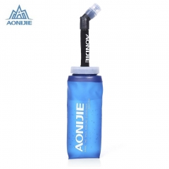 AONIJIE Water Bottle Kettle for Travel Sports Camping Hiking Walking Cross-Country Running Blue 350ml