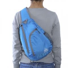 AONIJIE Outdoor Sling Chest Bag Nylon Single Shoulder Backpack Blue One Size
