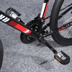 Paired Aluminum Alloy Bicycle Mountain Bike Non-slip Folding Pedals Black