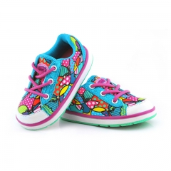 Baby's Choice Light Flash Space Leather Shoes Fashion Running Shoes Children's Shoes Pink 15.5