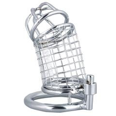 Adjustable Telescopic Man Penis Chastity Lock