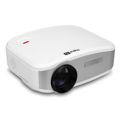 CHEERLUX Mini LED Projector 800x480 1200 Lumens White One size