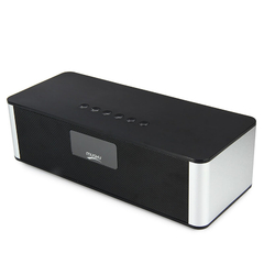 MUSKY DY21L Multimedia Mini Bluetooth Speaker with Stereo FM AUX Black One size