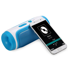 JY - 3 Outdoor Portable Wireless Bluetooth Speaker Blue One Size
