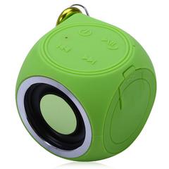 DT-B660 Bluetooth Speaker IPX7 Waterproof Built-in Rechargeable Battery Green One Size