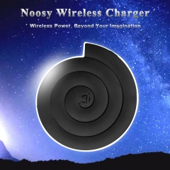 Black NS01 Mobile Phone Wireless Charger Black One Size