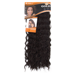 Noble OSCARS Cute Long Curly Hairpiece 1pc Synthetic Hair Extensions  for Christmas Gift 2 50cm
