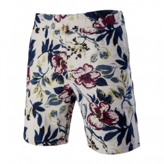 Fashion New Men Printed Rope Slack Recreational Shorts As the picture 2XL