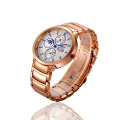 Men watch Luxury Brand Watches Quartz Clock Fashion belts Watch Cheap wristwatch waterpoor