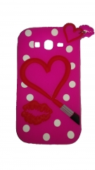 Galaxy S6 Micky Love Back Cover – Pink pink 5.5