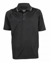 Black Light Grey Eye-Catching Polo T-Shirt Black Light Grey S