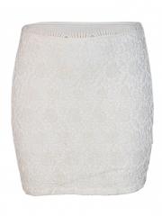 Cream Womens Mini Skirt cream s