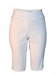 White Womens Capri Pants white 6